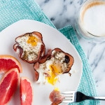 Baked Ham and Egg Cups are easy to assemble and quick for weekday mornings.