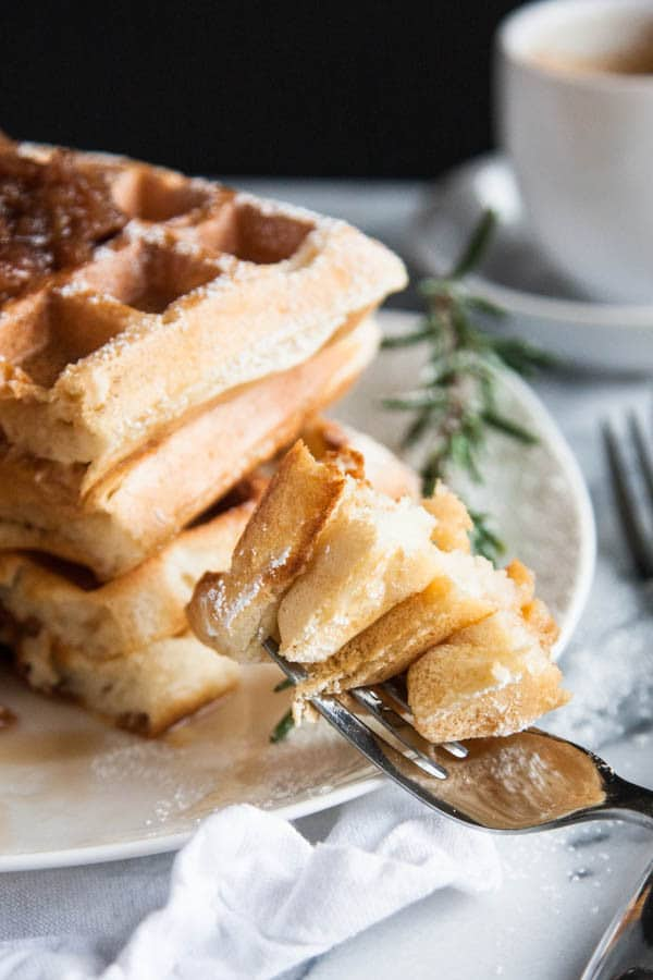 Make the fluffiest waffles ever with this secret ingredient!
