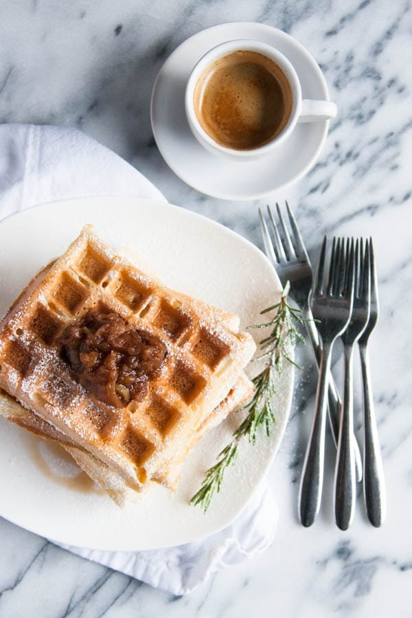Make your waffles the fluffiest ever with this secret ingredient!