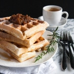 This is our family favorite recipe for Fluffiest Waffles!