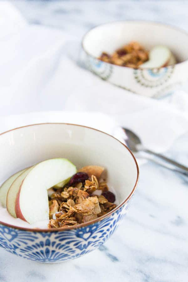 Holiday Gingerbread Granola
