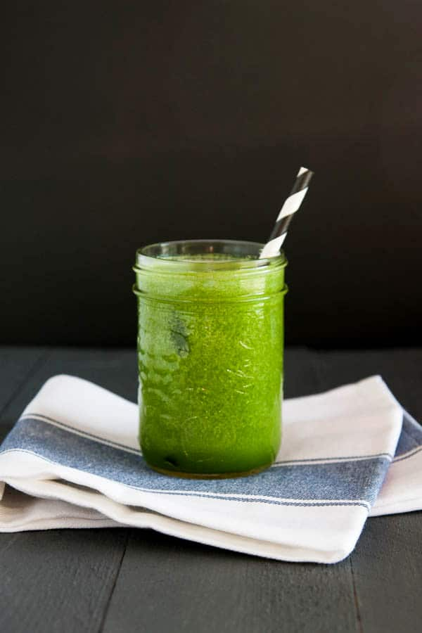Kiwi Green Juice | breakfast for dinner