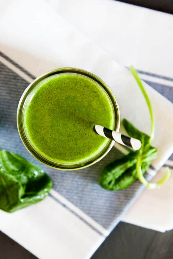 Kiwi Green Juice | breakfast for dinner