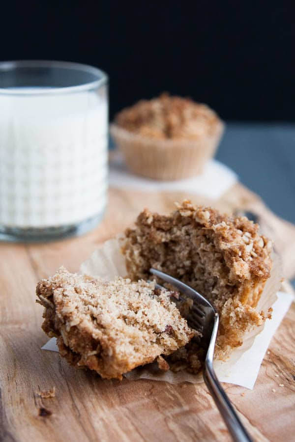 Bakery-style Cinnamon Streusel Muffins for a sweet breakfast!