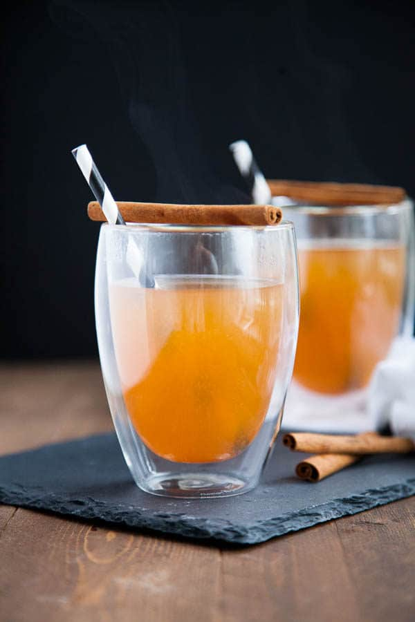 Warm your toes with Simple Homemade Apple Cider.
