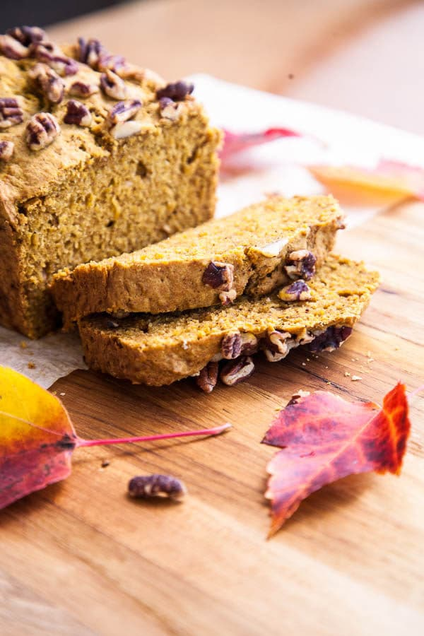 Pumpkin Spice Loaf | breakfast for dinner