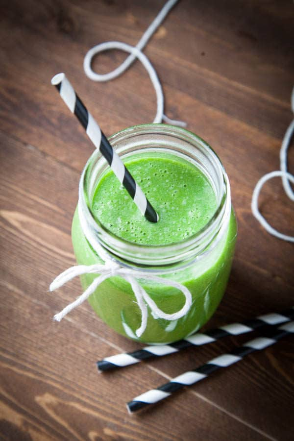 I drink this green smoothie every day!