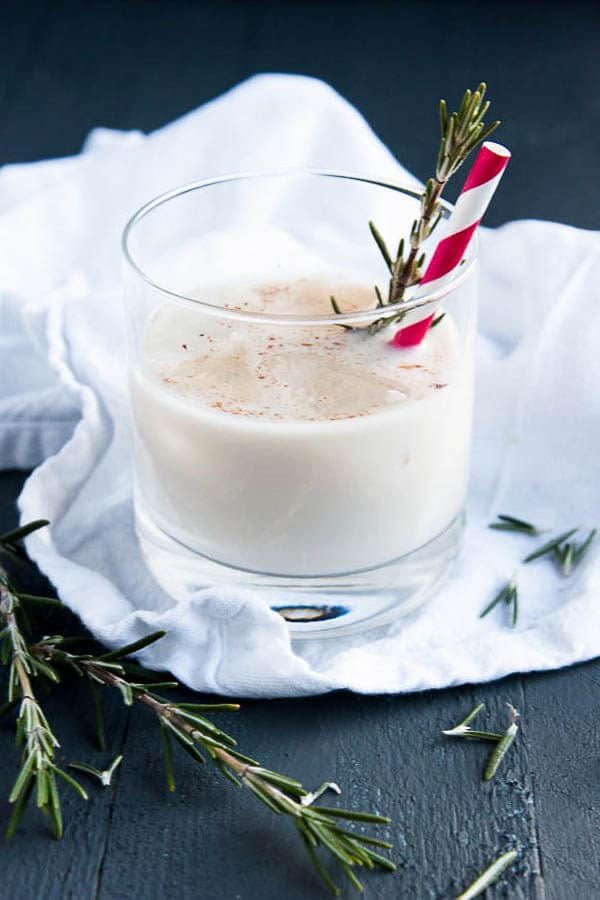 I love this recipe for Homemade Eggnog! Make it for the holiday season!