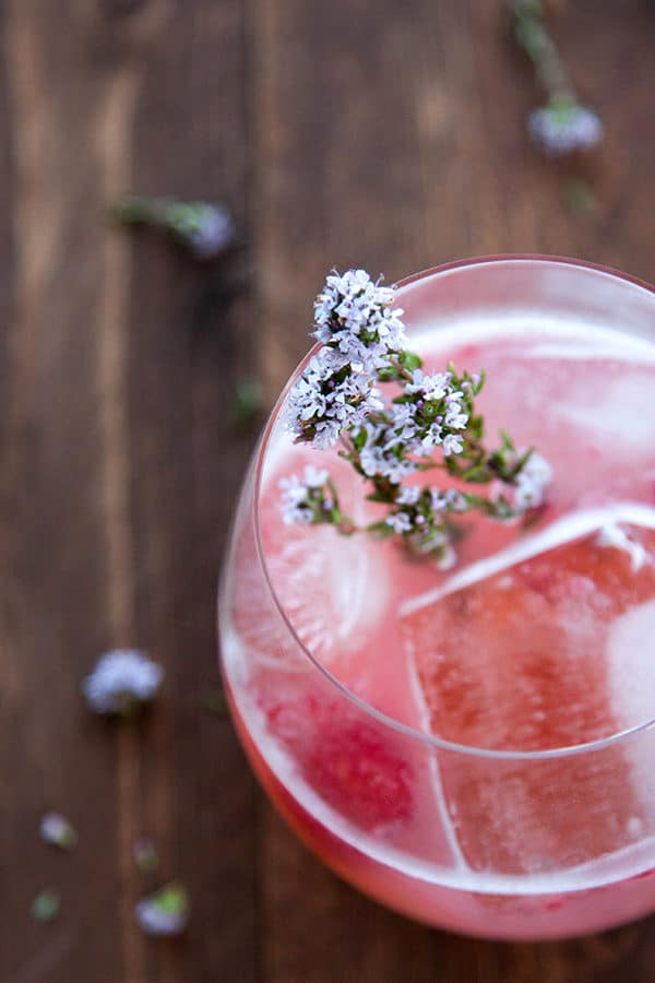 This Raspberry Gin Fizz is a delicate berry-filled cocktail splashed with a hint of soda water and lime for a light, refreshing drink. Most of the ingredients you already have on hand in your kitchen!