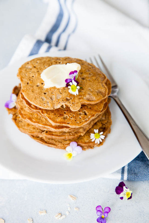Oatmeal Pancakes | breakfast for dinner
