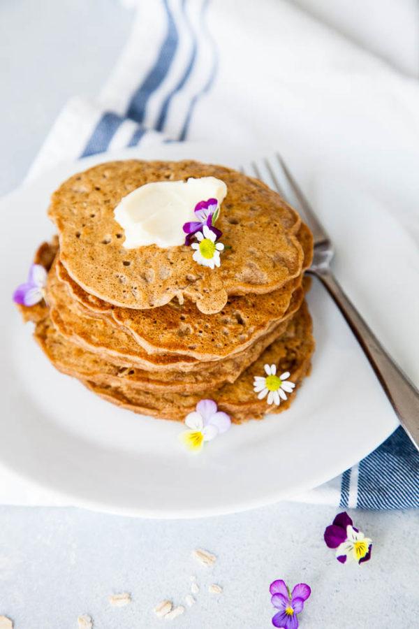 Oatmeal Pancakes | breakfast for dinner