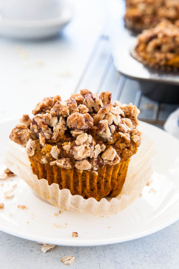 Healthy Pumpkin Muffins | breakfast for dinner